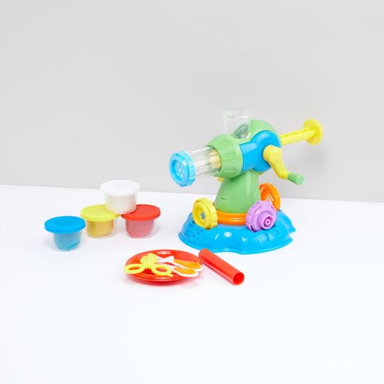 طقم لعبة عجينة صنع المعكرونة