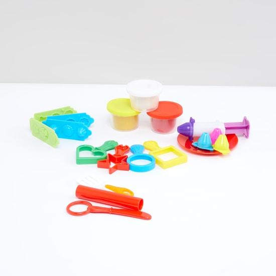 طقم لعبة العجين الملون للأطفال