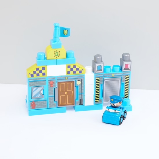 طقم لعبة مكعبات تشكيلة الشرطة من 23 قطعة