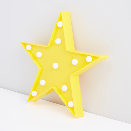 Star Shaped LED Hanging Wall Decor