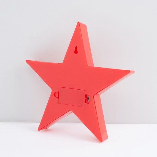 Star Shaped LED Hanging Wall Decor