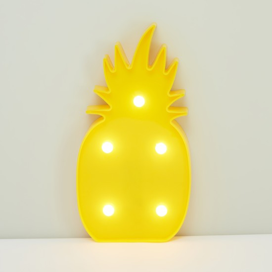 Pineapple Shaped LED Hanging Wall Decor