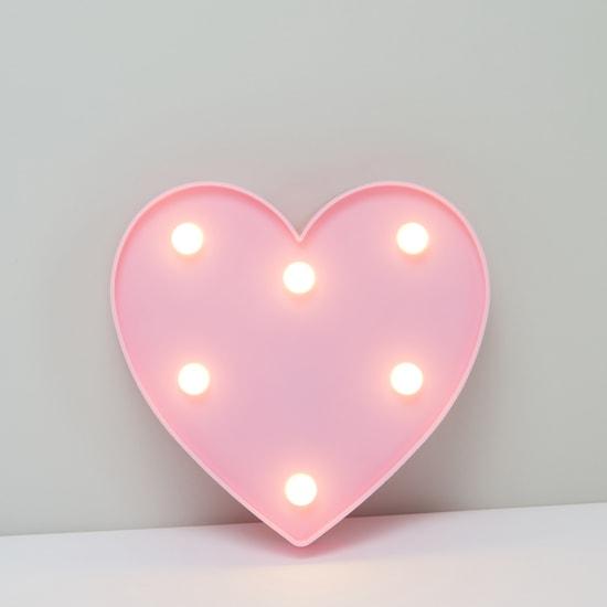 Heart Shaped LED Hanging Wall Decor