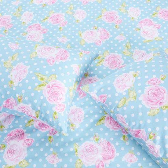 Printed 3-Piece Fitted Sheet Set