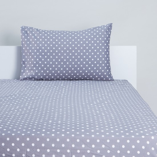 Polka Dots 2-Piece Fitted Sheet Set