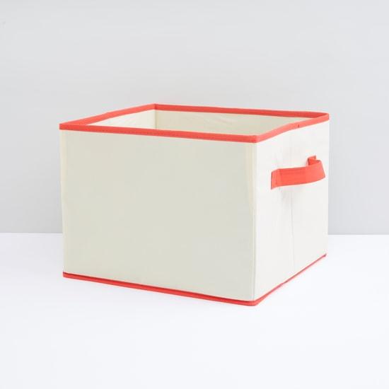 صندوق تخزين قابل للطي بمقابض