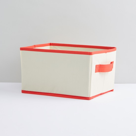 Collapsible Storage Box with Handle