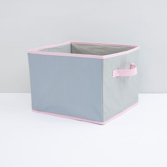 صندوق تخزين قابل للطيّ بمقابض