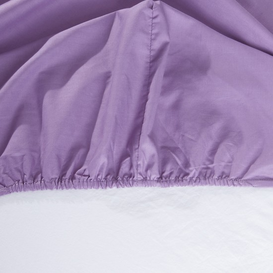 Fitted Sheet with Elasticised Edges