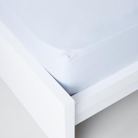 Rectangular Fitted Sheet- 180×200x25 cms