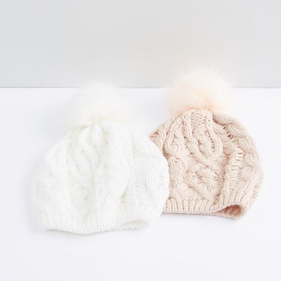 قبعة بيني - طقم من قطعتين