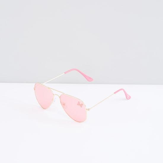 Minnie Mouse Printed Full Rim Aviator Sunglasses