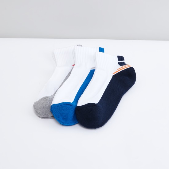 Set of 3 - Ankle Length Sports Socks