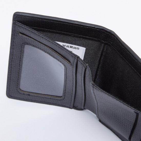 Textured Wallet with Multiple Card Slots