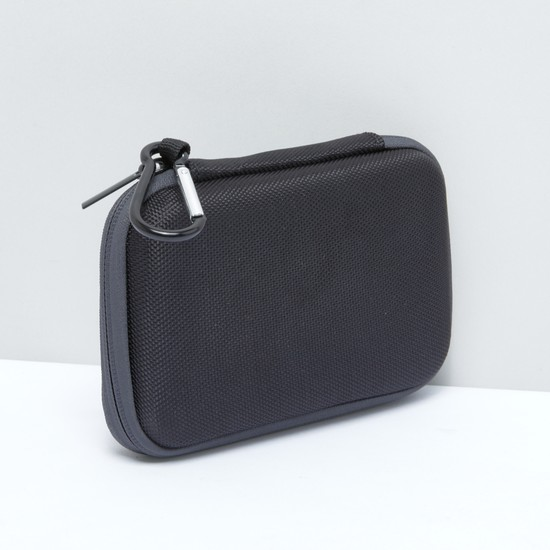 Textured Organiser with Carabiner