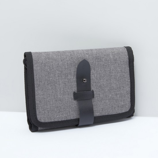 Multiple Slot Electronic Accessories Storage Pouch