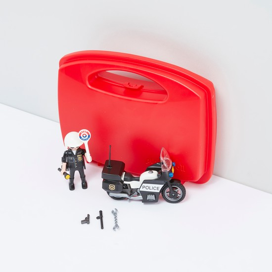 PLAYMOBIL City Action Police Carry Case