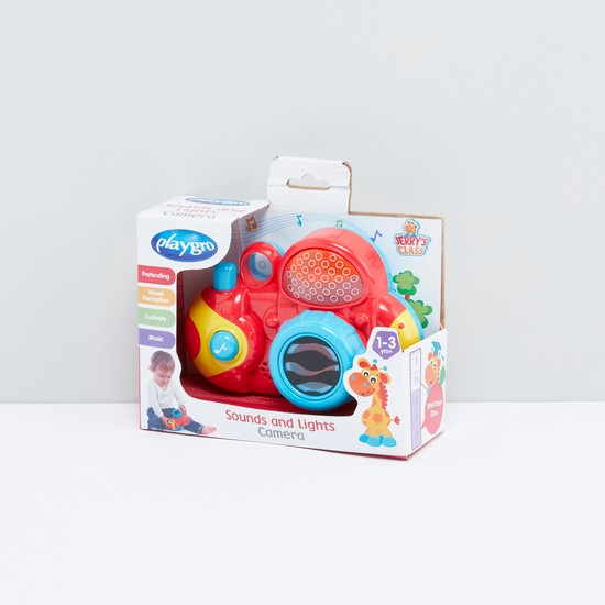 Playgro Sounds and Lights Camera Toy