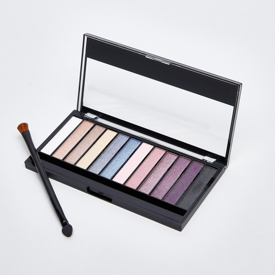 Intense Eye Shadow Palette with Brush