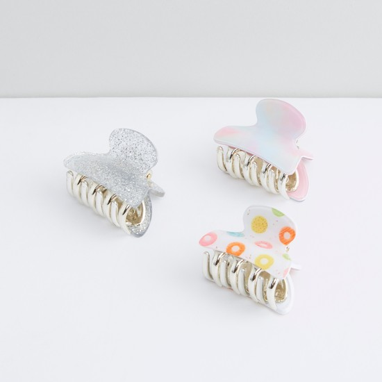 Printed Hair Clamp - Set of 3