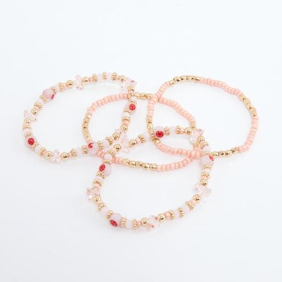 Beaded Bracelet - Set of 4