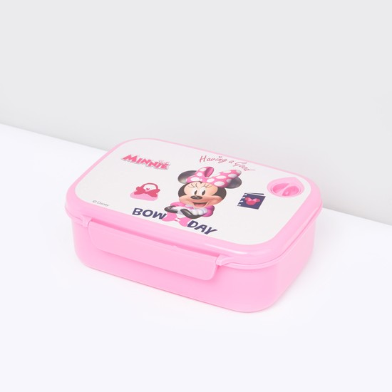 Minnie Mouse Print Lunch Box