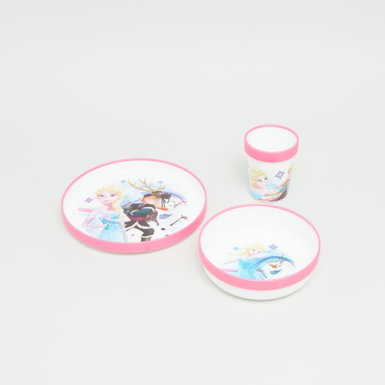 Frozen Printed 3-Piece Meal Set