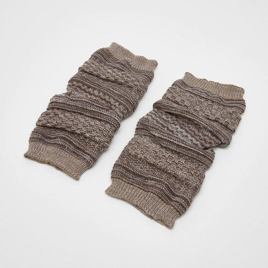 جوارب مضلعة لتدفئة الساق