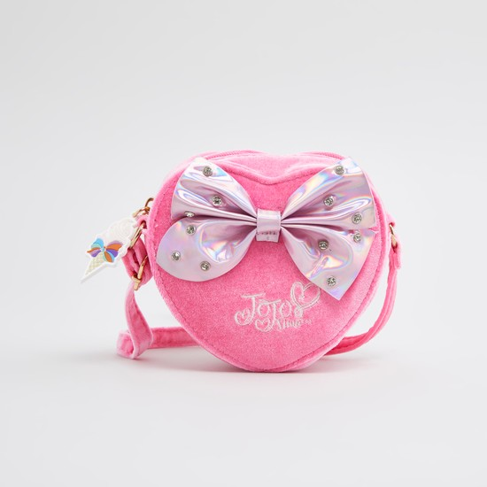 Jojo Siwa Embellished Crossbody Bag with Adjustable Strap