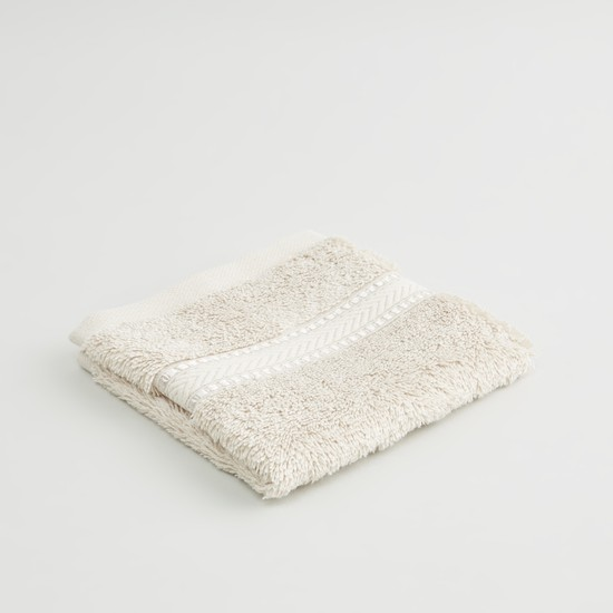 Set of 4 - Textured Egyptian Cotton Face Towel