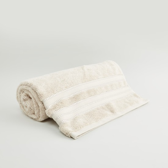 Textured Egyptian Cotton Bath Sheet