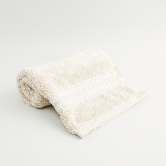 منشفة يد بارزة الملمس من القطن المصري