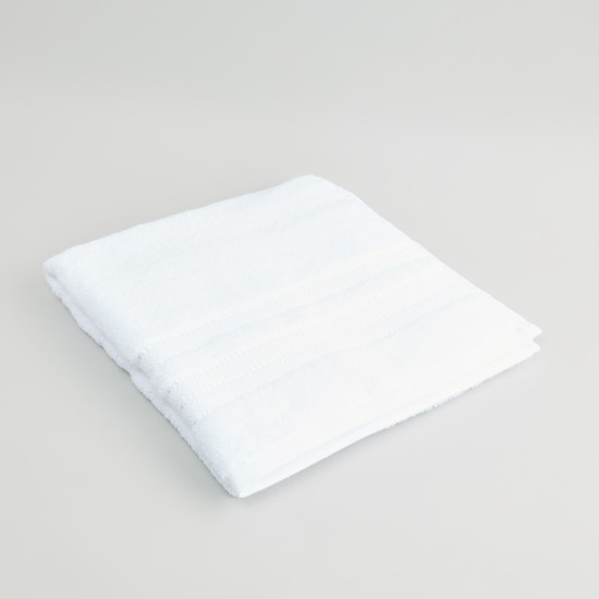 Textured Egyptian Cotton Bath Towel - 70x140 cms