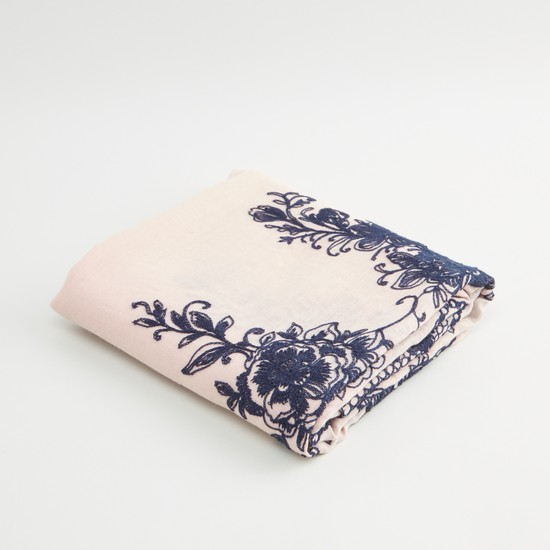 Embroidery Detail Scarf