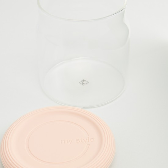 Small Storage Jar with Lid