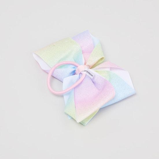 رابطة شعر مزينة بفيونكة