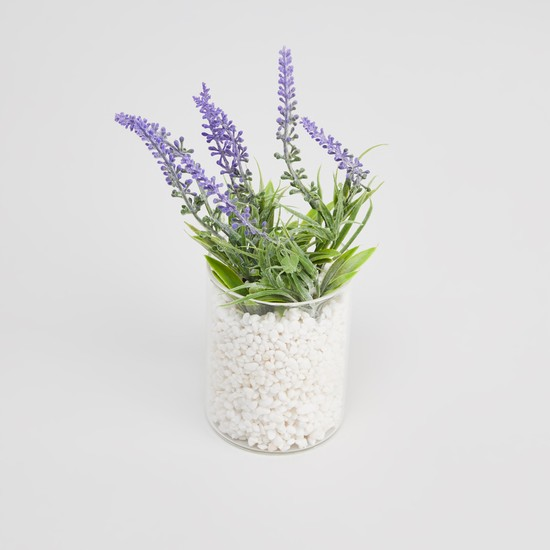 Artificial Potted Plant - 9x8x29 cms