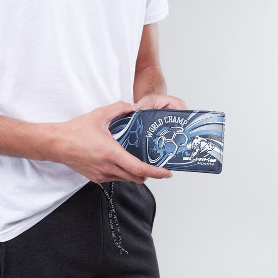 محفظة بطيّة مزدوجة وطبعات