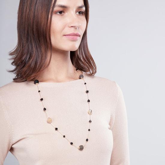 Embellished Long Necklace