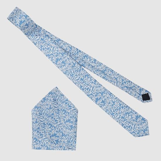 Floral Print Tie in Regular Cut
