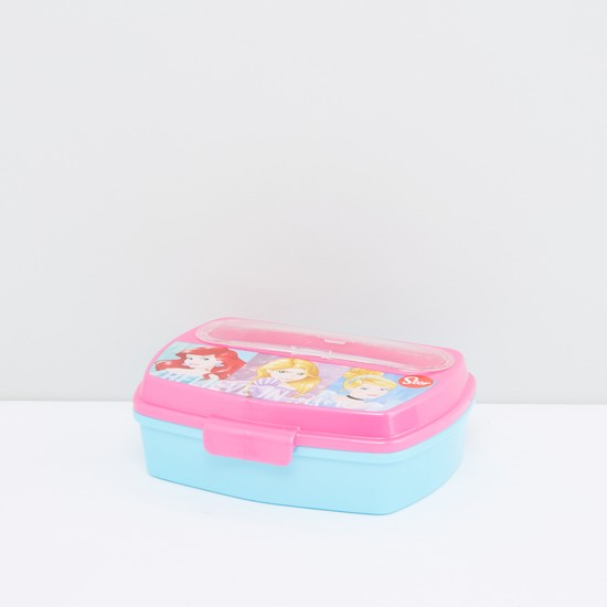 Princess Printed Lunch Box with Cutlery