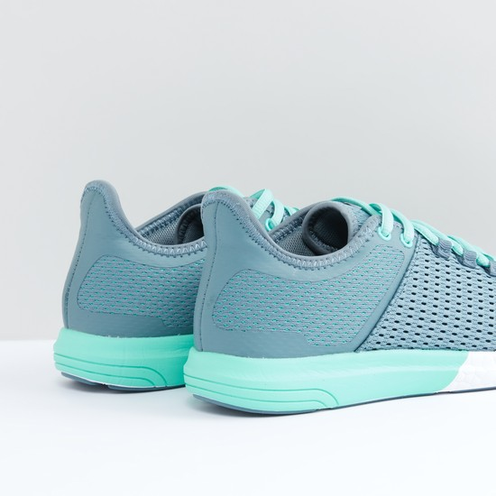 Perforated Lace-Up Running Shoes