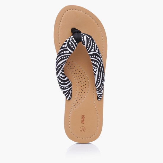 Printed Thong Slippers