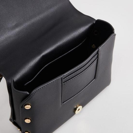 Plain Satchel Bag with Adjustable Strap