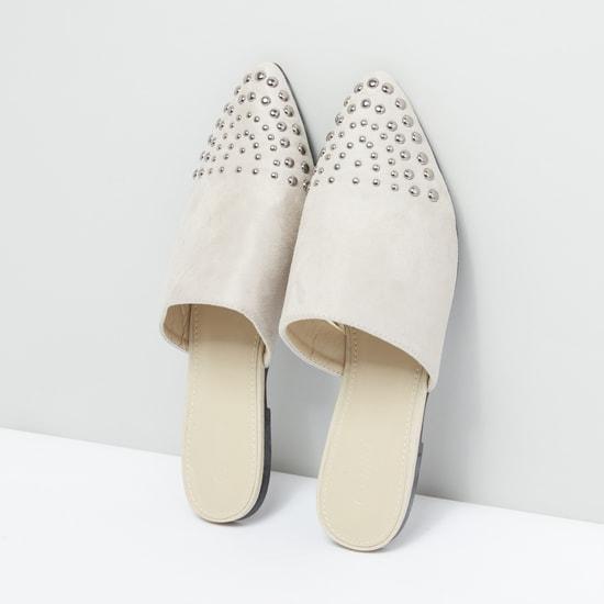 Embellished Mules