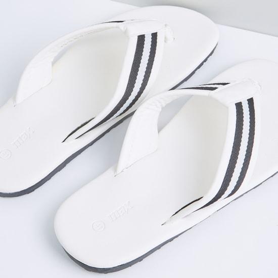 Textured Flip Flops