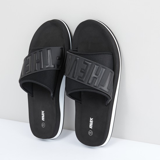 Printed and Textured Slides