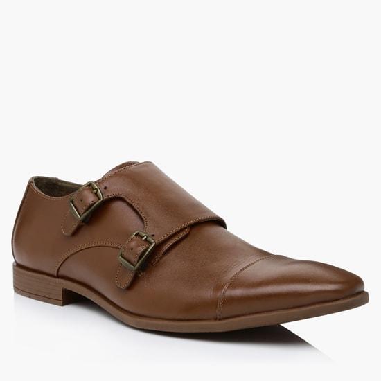 Slip-On Monk Strap Shoes