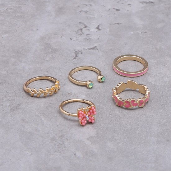 Assorted Rings - Set of 5