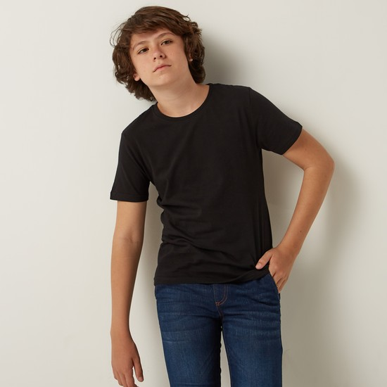 T-Shirt with Short Sleeves